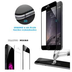 Protector 3D CURVO Para IPHONE 6, 6 PLUS, IPHONE 7
