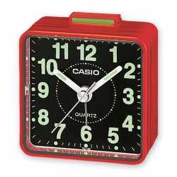 Reloj despertador Casio tq-140-4EF- Cuarzo Rojo