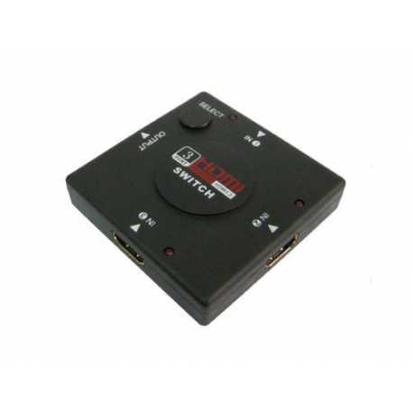 Multipuerto HDMI Switch 3 puertos 1080P HDTV