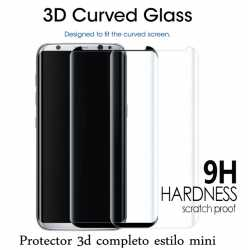 Protector Cristal Completo Para SAMSUNG S8 ,S8 plus ,S9, S9 plus (estilo mini )