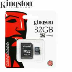 Kingston microSDHC 32GB C4 + Adaptador
