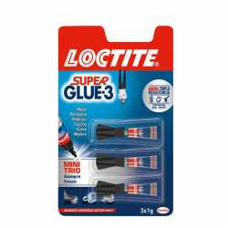 SUPER GLUE 3 TRIO 3X1 GRAMO